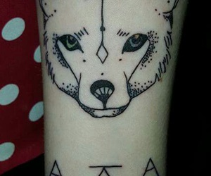 geometric, tattoo, and ink image