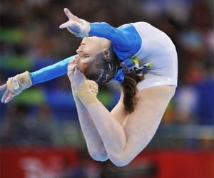 gymnastics, gymnast, and olympics image