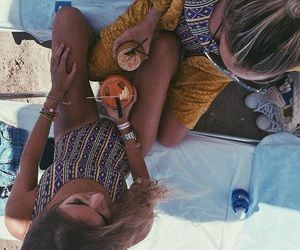 girl, summer, and boho image