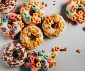 colorful, donuts, and girly image