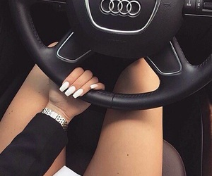 nails, car, and audi image