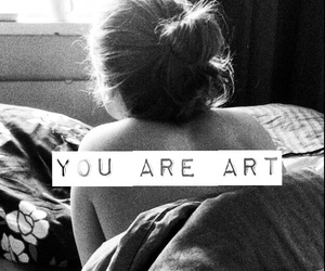 art, artsy, and bed image