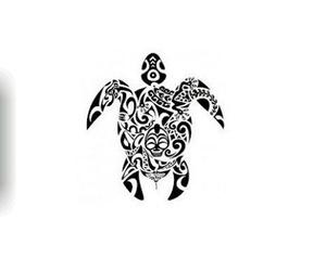 tartaruga, tattoo, and tribale image