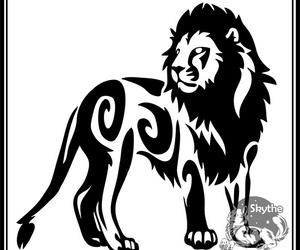 Leone, tattoo, and tribale image
