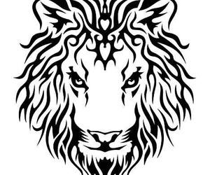 Leone and tribale tattoo image