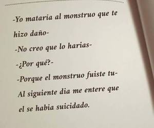 books, frases, and suicide image