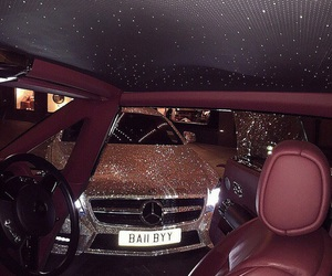 car, luxury, and glitter image
