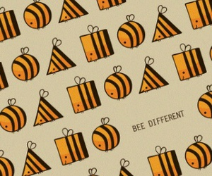 bee, different, and bee different image