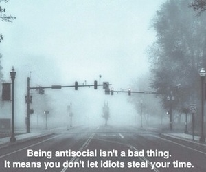 alone, antisocial, and black image