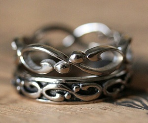 beautiful, jewelry, and rings image