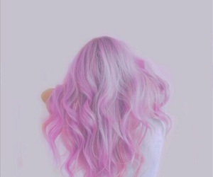 'hair', 'pink', and 'style' image