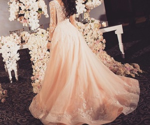bride, dress, and outfit image