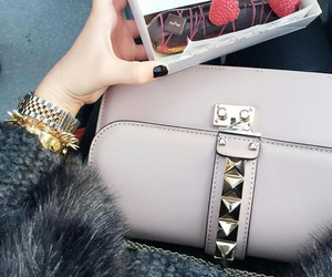 bag, outfit, and Valentino image