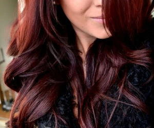 hair, red, and brown image
