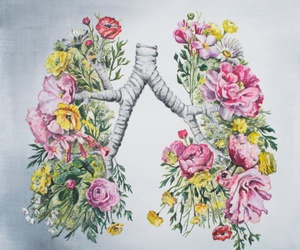 art and lungs image
