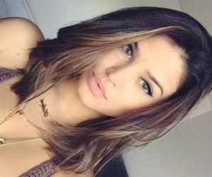 hair, girl, and short image