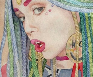 fan art and miley cyrus image