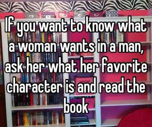book and woman image