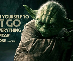 quotes, star wars, and yoda image