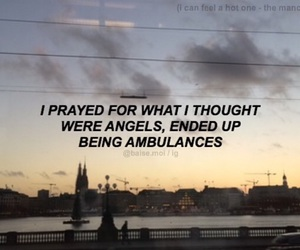 song lyrics, i can feel a hot one, and the manchester orchestra image