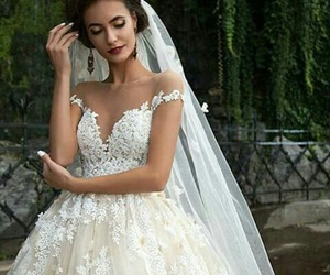 wedding, dress, and perfect image