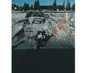 art, me, and skate image
