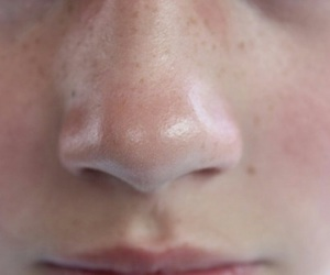 indie, skin, and nose image