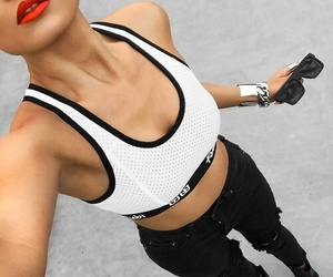 fashion, outfit, and fitness image