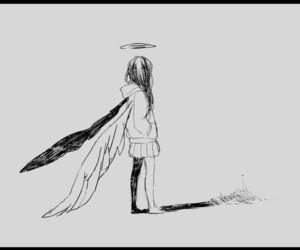 anime, angel, and art image