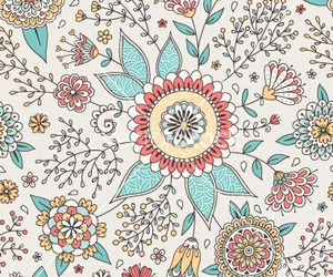 flowers, pattern, and colors image