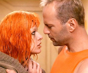 bruce willis, Fifth Element, and mila jovovich image