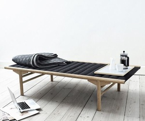 day bed, home decor, and simplicity image