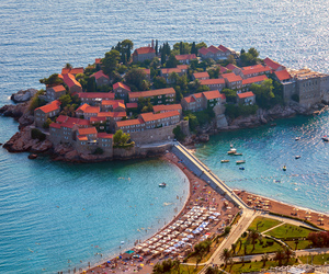 balkans, roofs, and tourism image