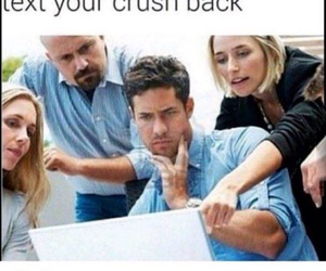 funny, crush, and friends image
