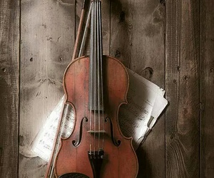 classical music, violin, and instrument image