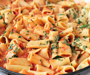 food, pasta, and delicious image