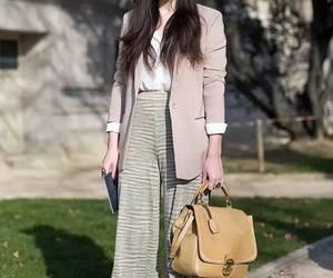 clothes, handbag, and hat image