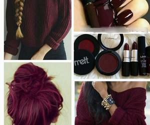 want, color, and nails image