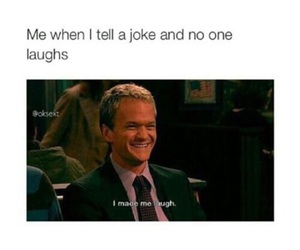 funny, Barney Stinson, and how i met your mother image