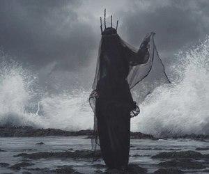 Queen, dark, and sea image