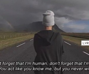 justin bieber, quote, and human image