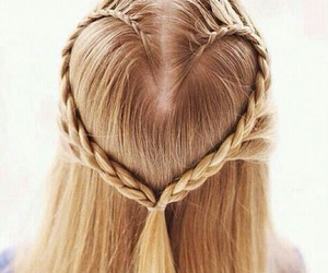 beautiful, lady, and hairposts image
