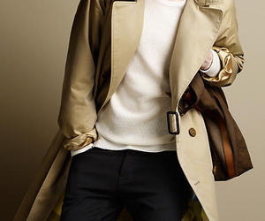 Burberry, coat, and style image
