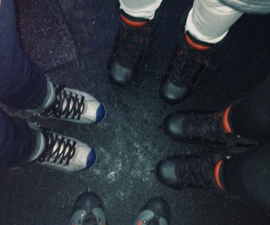 ice skating, sisters, and friends image