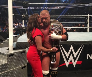 couples, wwe, and triple h image