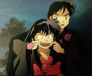inuyasha and miroku image
