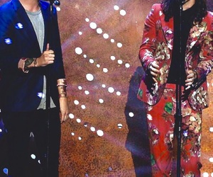 one direction, larry, and Harry Styles image