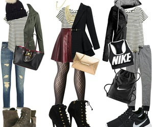 casual, dressy, and outfits image