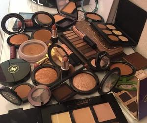 beautiful, make up, and naked image