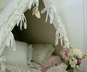 blankets, hideaway, and pillows image